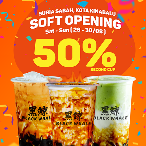 Suria Sabah Kota Kinabalu Opening Soon on 29 Aug 2020