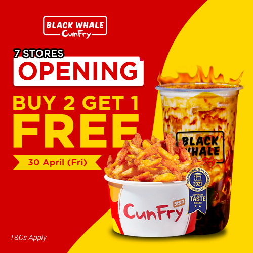 Black Whale CunFry opening 7 stores!
