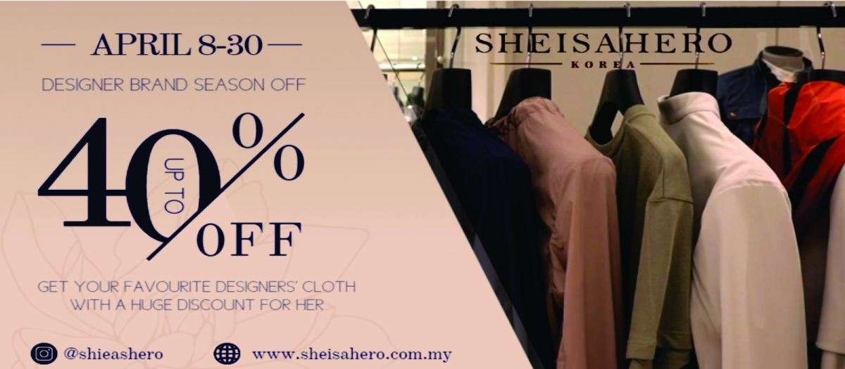 SHEISAHERO KOREA FASHION - APRIL DEALS