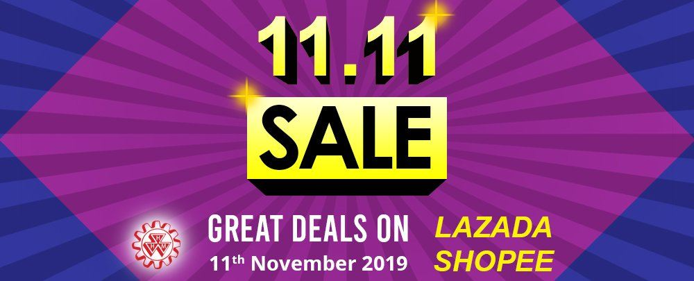 1111 Sales in Lazada & Shopee