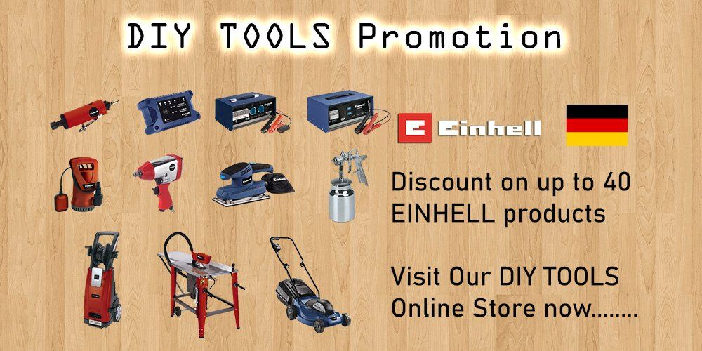 DIY TOOLS PROMOTION