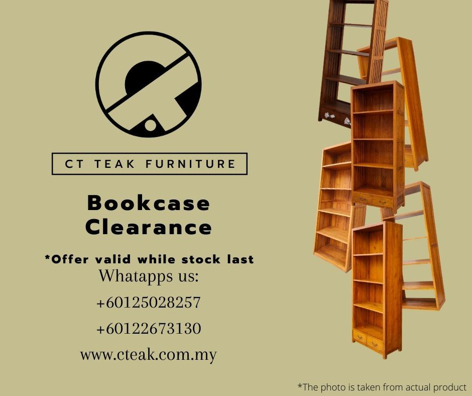 10.10 Bookcase Sale