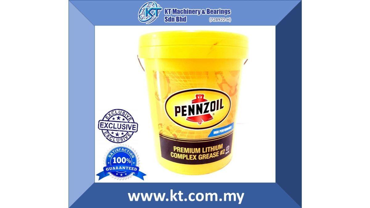 Pennzoil Premium Lithium Complex Grease #2 18 Litre