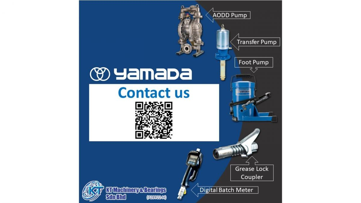 Yamada AODD Pump, Transfer Pump, Foot Pump, Grease Lock Coupler, Digital Batch Meter