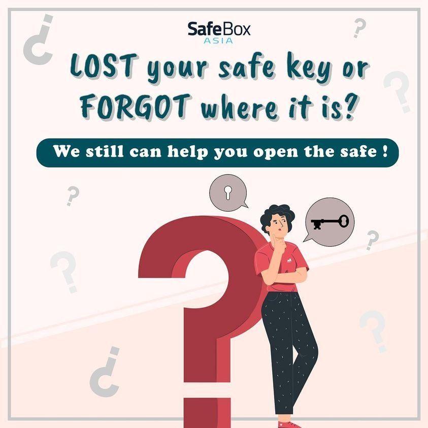 HAVING PROBLEM WITH SAFE BOX?