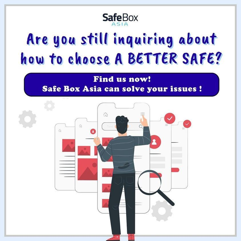 CHOOSE THE RIGHT SAFE FOR YOU OR FOR YOUR COMPANY