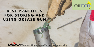 Best Practices for Storing and Using Grease Gun