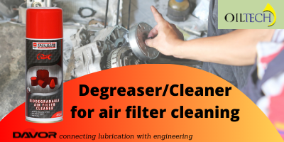 Degreaser or Cleaner for air filter cleaning
