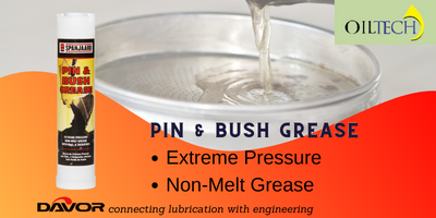 An extreme pressure, tacky lubricant specially developed for pins and bushes in earthmoving