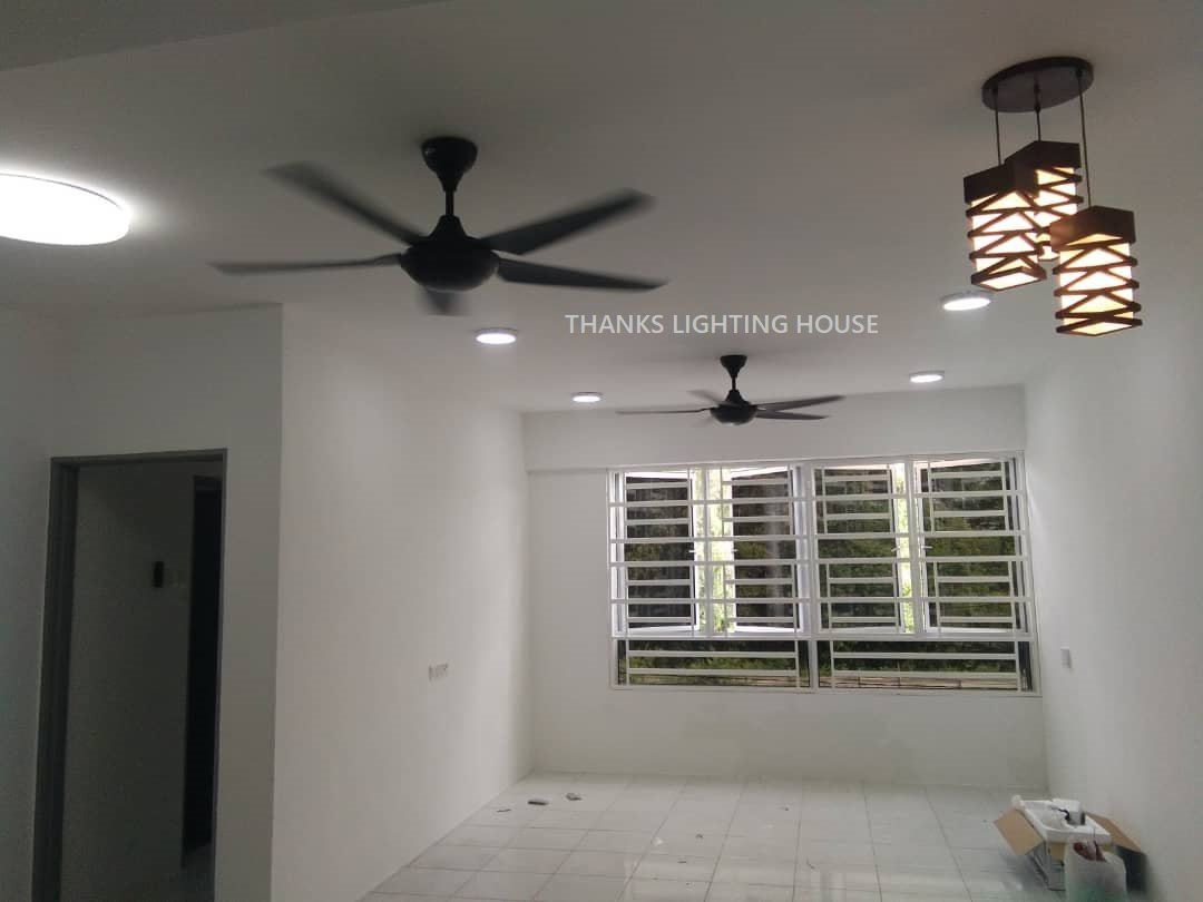 Installation works completed for Apartment D Aman Residence Ipoh Perak