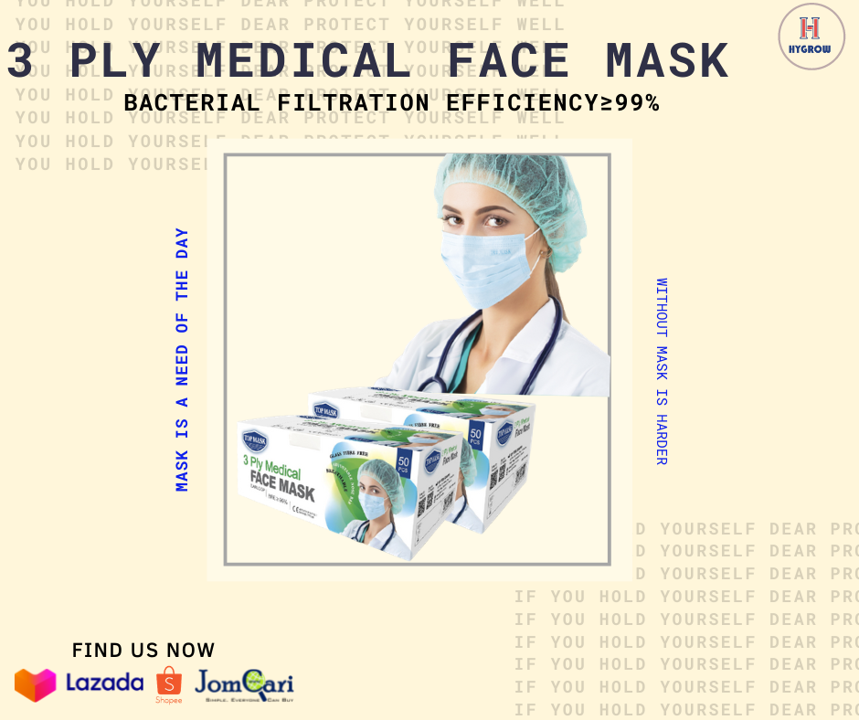 3Ply Medical Face Mask