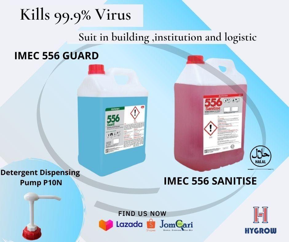 IMEC 556 Sanitise, Guard & Detergent Dispensing Pump