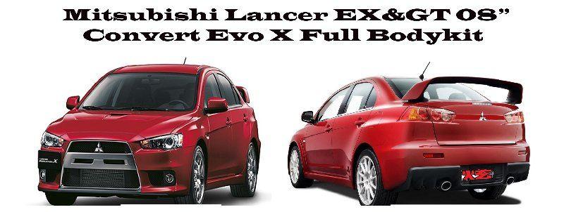 Promotion!!! Mitsubishi Lancer EX & GT 08 Convert Evo EX Bodykits RM 1490!!!
