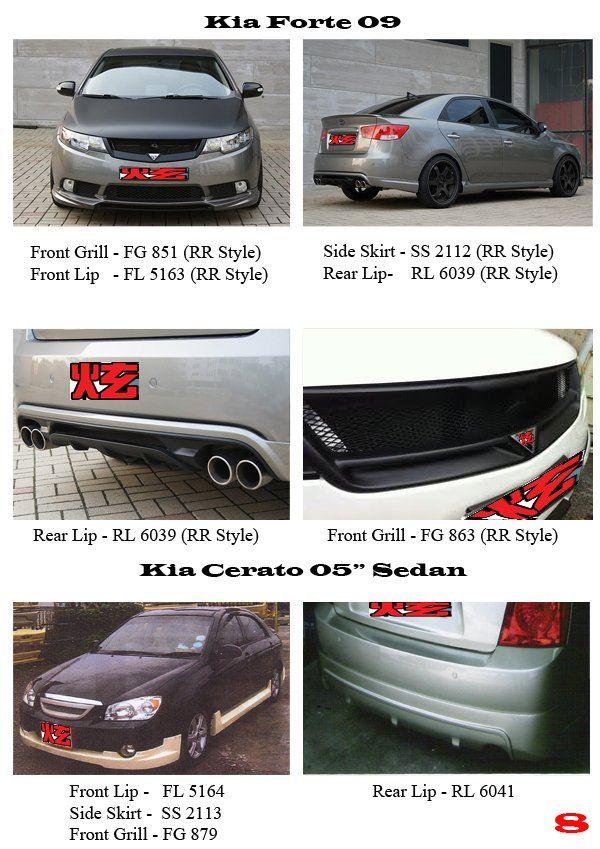Kia Forte (RR Style) & Kia Cerato 05 Sedan