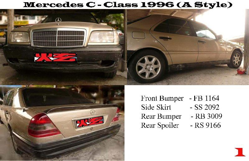 Mercedes C - Class W202 1996 (A Style)