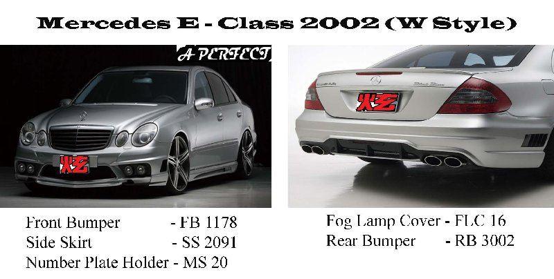 Mercedes E - Class W211 2002 (W-Style)