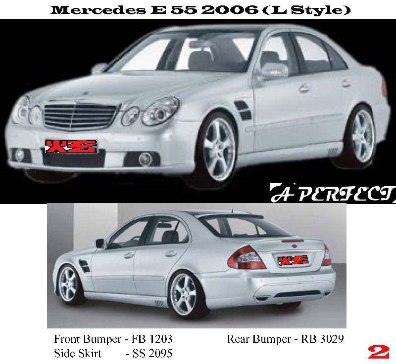 Mercedes E - Class W211 2006 (L Style)