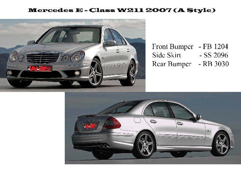 Mercedes E - Class W211 2007 (A Style)