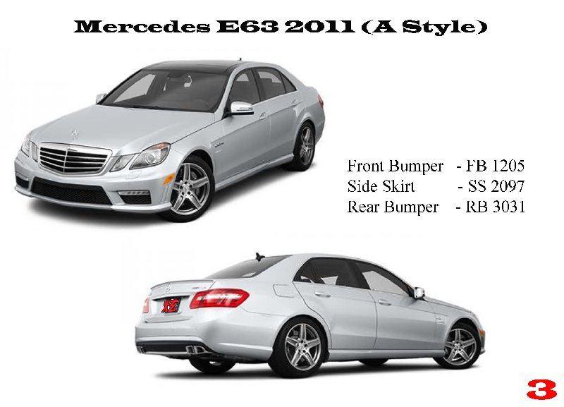 Mercedes E 63 W212 2011 (A Style)