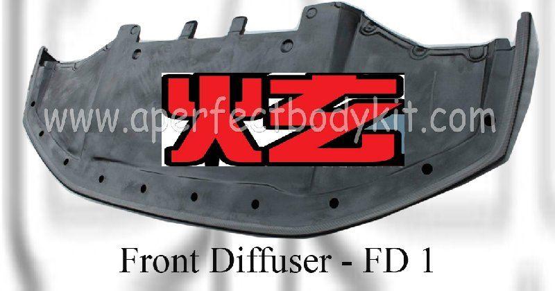 Nissan GTR R35 Front Lip Diffuser