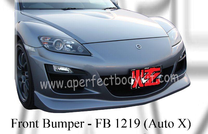 Mazda RX8 03 Auto X Front Bumper