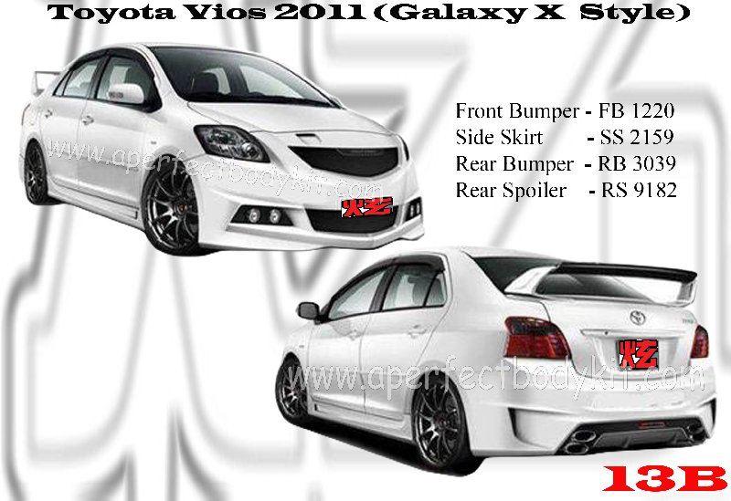 Toyota Vios 2011 Galaxy X