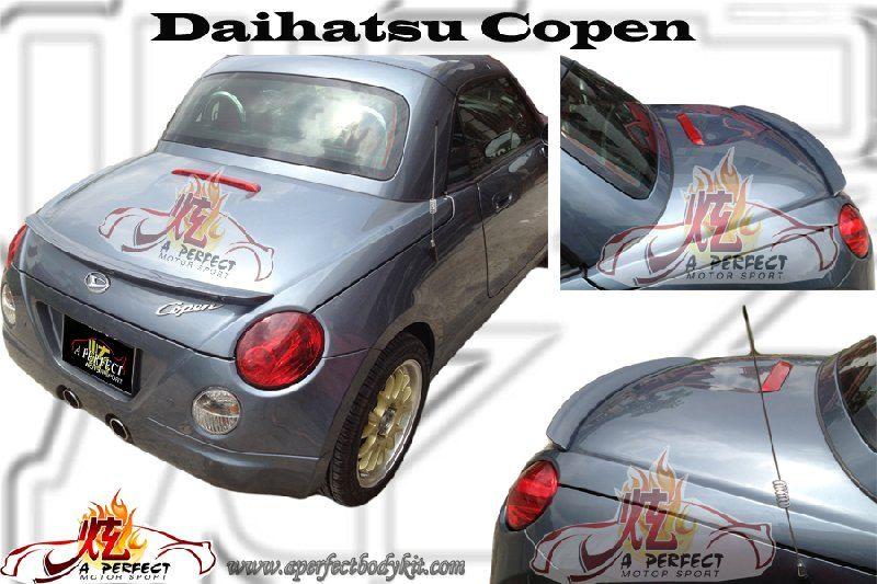 Daihatsu Copen Rear Spoiler