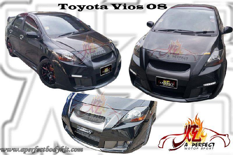 Toyota Vios 08 Front Bumper