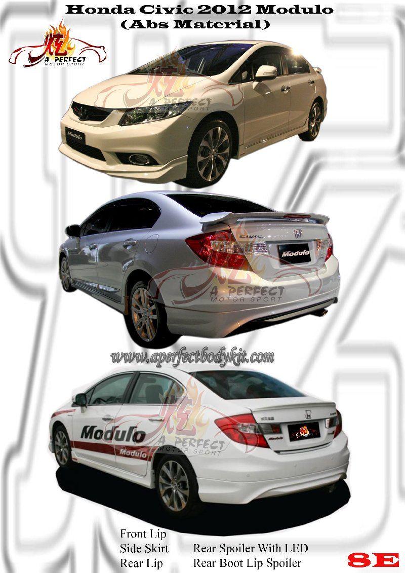 Honda Civic 2012 Modulo Bodykit