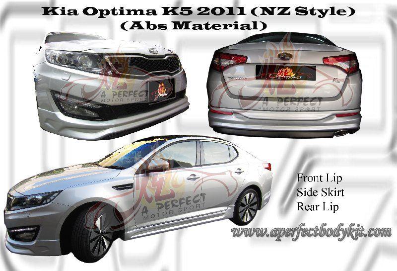 Kia Optima K5 2011 NZ Style Bodykit