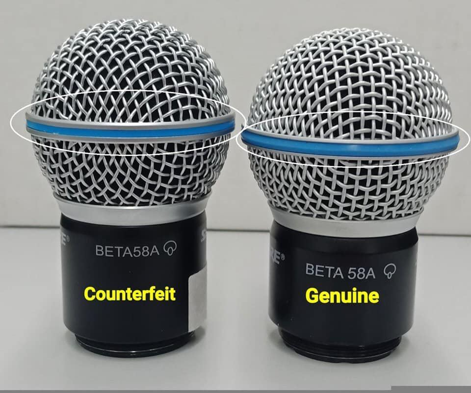 How to determine Shure Genuine Products?