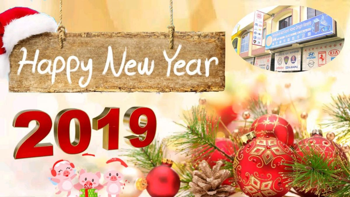 We wish all of you have a prosperity new year