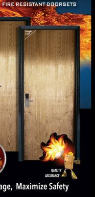 Fire Rated Door 900 x 2100