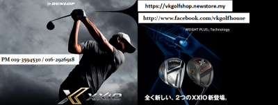 The Power of XXIO EKS remains the TOP at VKGolf Exclusively!!!