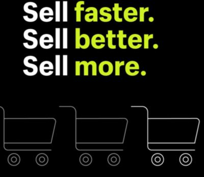 AT V K GOLF WE : we sell better we sell faster we sell more.