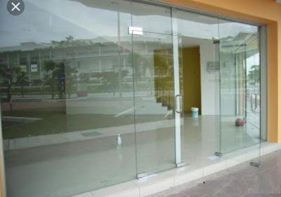 TEMPERED GLASS SHOPFRONT �� Taman Ponderosa )