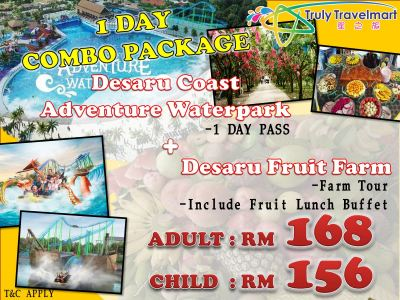 Desaru Coast Adventure Waterpark & Desaru Fruit Farm