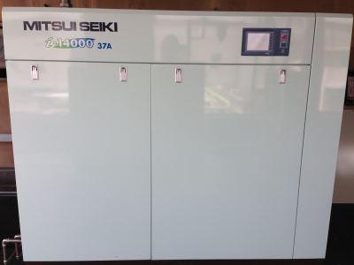 Mitsui Seiki Oil Free Inverter Type Air Compressor i-14037A