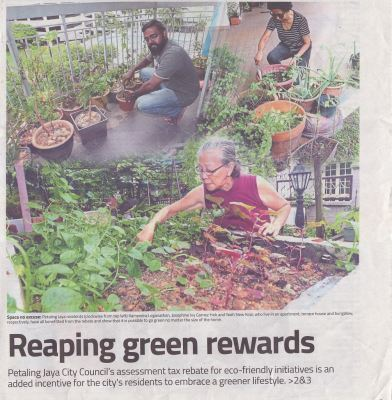 #thestar#15January2018#GoGreen