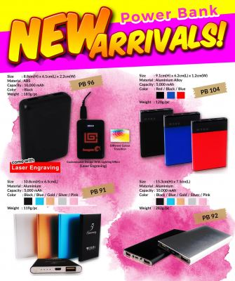 Power Bank NEW ARRIVAL!!!
