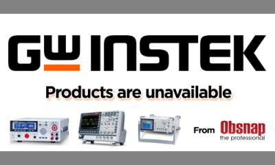 GW Instek Products are currently not available by Obsnap Instruments