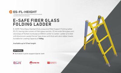 E-Safe Fiber Glass Folding Ladder