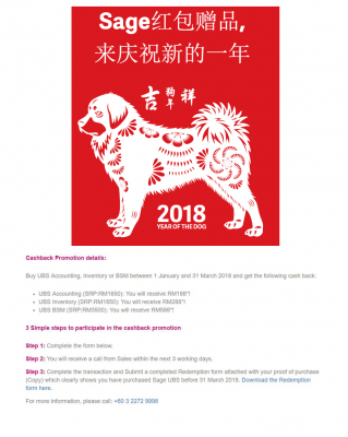 Chinese New Year Promotion !!!