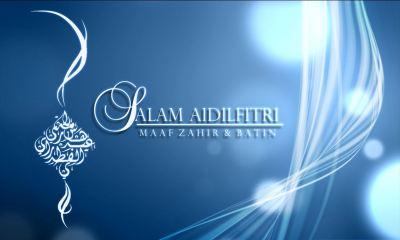 Kami ingin mengucapkan Selamat Hari Raya Aidilfitri kepada semua. :)