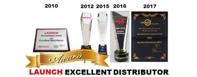 Launch Excellent Distributor Award