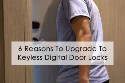 6 Reasons To Upgrade To Keyless Electronic Digital Door Locks