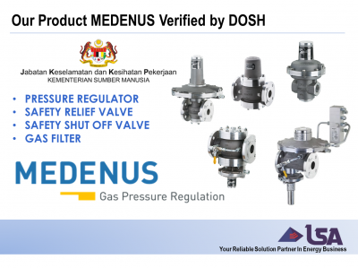 Our Product Medenus from Germany Now Verified by DOSH (Department of Occupational Safety and Health)