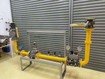 DN80 Natural Gas Train - Design & Build