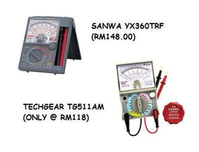 [PROMOTION] Analog Multimeter Techgear TG511AM