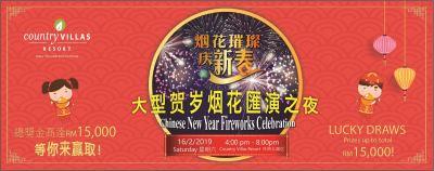 Chinese New Year Fireworks Celebration